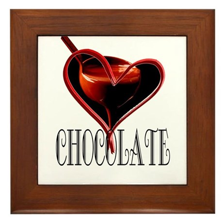 CHOCOLATE Framed Tile