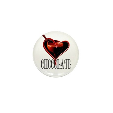 CHOCOLATE Mini Button (100 pack)