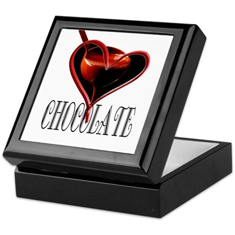 CHOCOLATE Keepsake Box