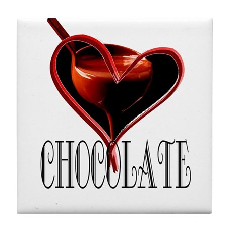 CHOCOLATE Tile Coaster