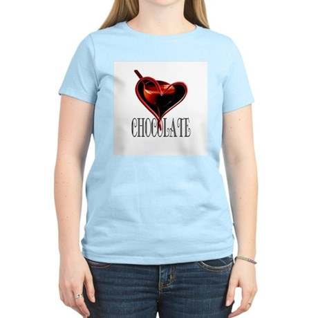 CHOCOLATE Women's Pink T-Shirt