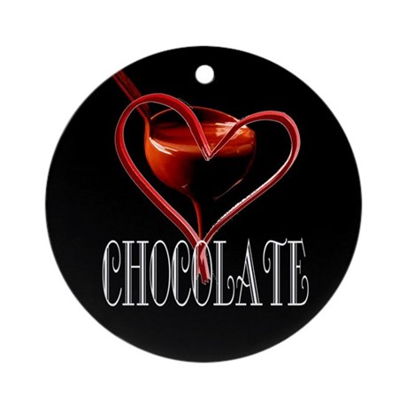 CHOCOLATE Ornament (Round)