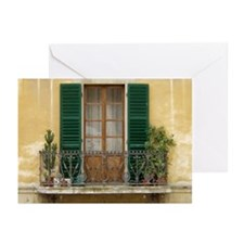 Green Shutters Cards (Pk of 10)