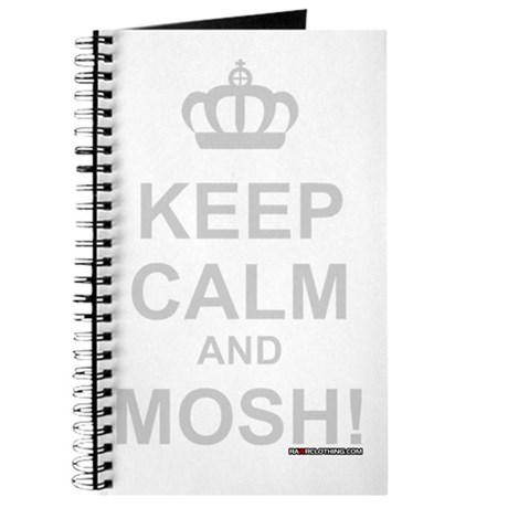 Keep Calm and Mosh Journal