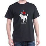 Canaan Dog Black T-Shirt