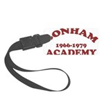 Bonham Red.png Small Luggage Tag