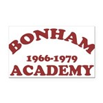 Bonham Red.png Rectangle Car Magnet