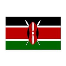 Kenya.svg.png Rectangle Car Magnet