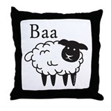 Baa Throw Pillow