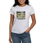 treeNdragonsmall.jpg Women's V-Neck Dark T-Shirt