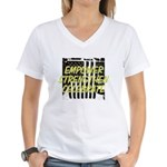 treeNdragonsmall.jpg Organic Women's Fitted T-Shir