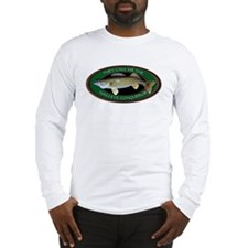 Long Sleeve Walleye T-Shirt