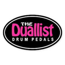 Duallist Oval Decal