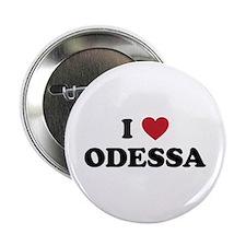"""I Love Odessa 2.25"""" Button"""