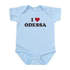 I Love Odessa Infant Bodysuit