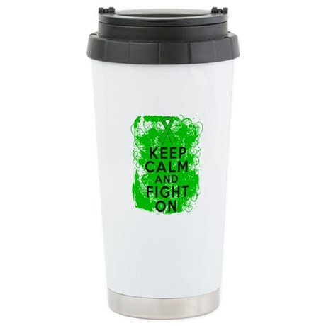 Kidney Disease Keep Calm Fight On Ceramic Travel M