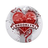 Love Brooklyn Ornament (Round)