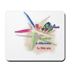 It Makes a Difference Mousepad