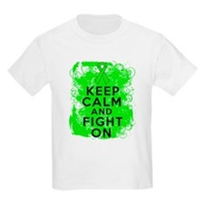 Non-Hodgkins Lymphoma Keep Calm Fight On T-Shirt
