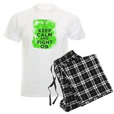 Non-Hodgkins Lymphoma Keep Calm Fight On pajamas