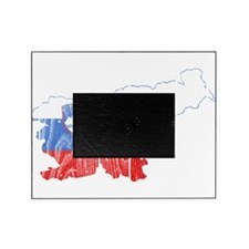 Slovenia Flag And Map Picture Frame
