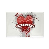 Love Hailey Rectangle Magnet