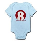 8 Month Identifier Infant Bodysuit