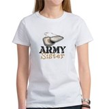 Unique Us army sister Tee