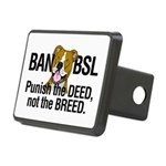 Ban BSL Rectangular Hitch Cover