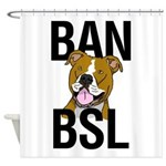 Ban BSL Shower Curtain