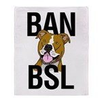 Ban BSL Throw Blanket