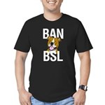 Ban BSL Men's Fitted T-Shirt (dark)