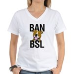 Ban BSL Women's V-Neck T-Shirt