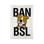 Ban BSL Rectangle Magnet (10 pack)