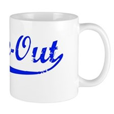 Choke-out (blue) Mug