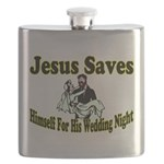 Jesus Saves Flask