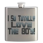 Love The 80's Flask
