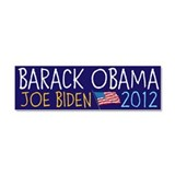 OBAMA BIDEN 2012 Car Magnet 10 x 3