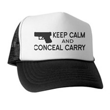 Keep Calm and Conceal Carry Trucker Hat