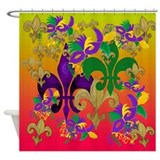 Mardi Gras Blast Shower Curtain