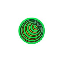 23rd Spiral Mini Button
