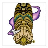 Smokin' Tiki Fridge Magnet