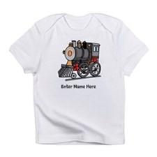 Personalized Train Engine Infant T-Shirt