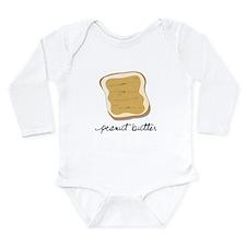 Unique Peanut butter Long Sleeve Infant Bodysuit