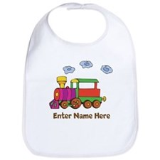 Personalized Train Engine Bib