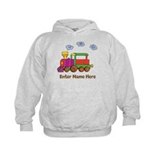 Personalized Train Engine Hoodie