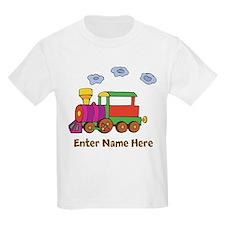 Personalized Train Engine T-Shirt