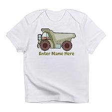 Personalized Dump Truck Infant T-Shirt