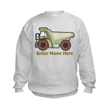 Personalized Dump Truck Sweatshirt