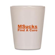 MSucks Shot Glass